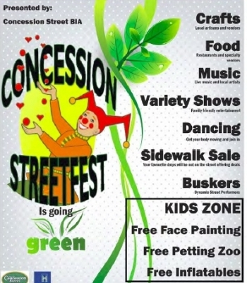 It's Coming...Concession Streetfest 2014
